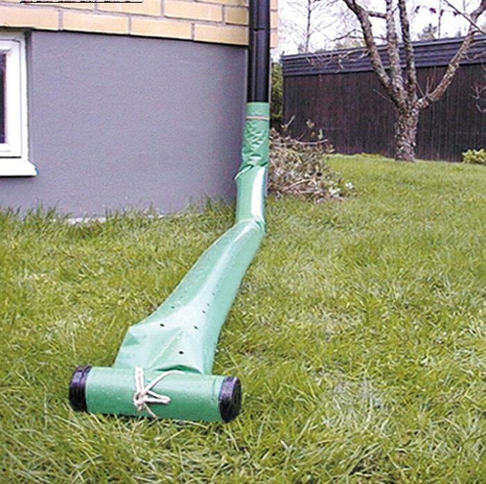 Regnvattenspridare Grön