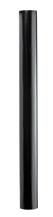 Stuprör 90 x 2500 mm Svart