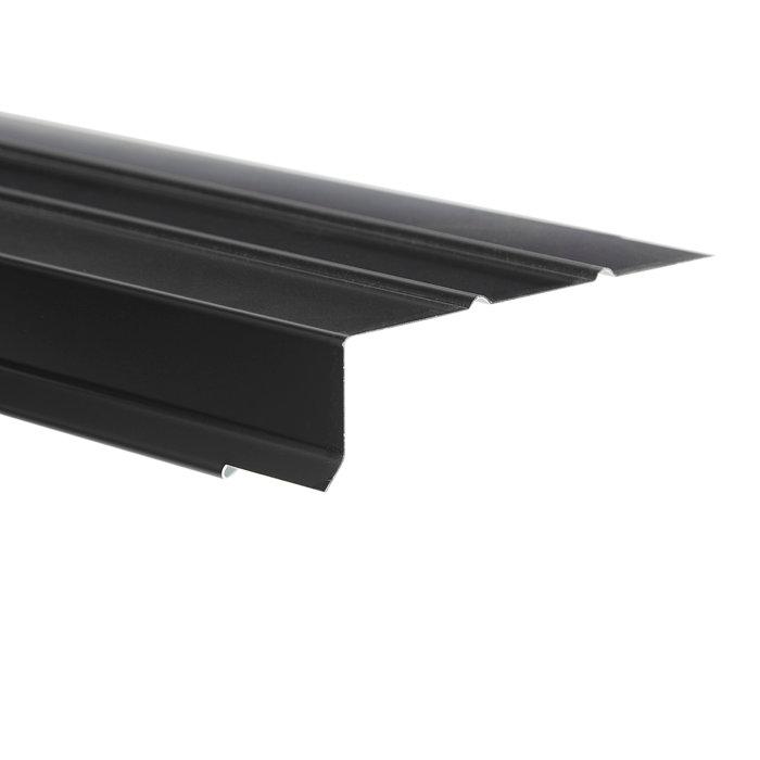 Sternkapsel universal sort alu 108 x 30 x 1000 mm