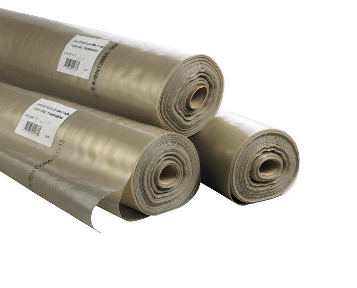 Plastfolie 0,15 mm, 2 x 25 m