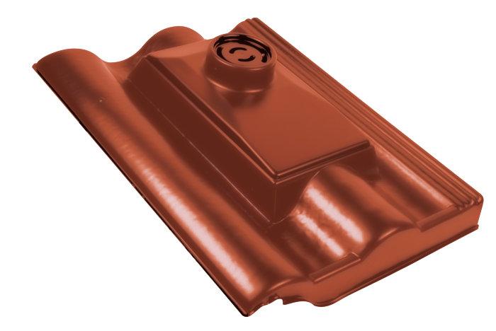Benders faldstamme udluftning 2K Palema teglrød