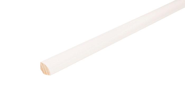 Kvartstafliste hvid - 12 x 12 mm x 3 meter