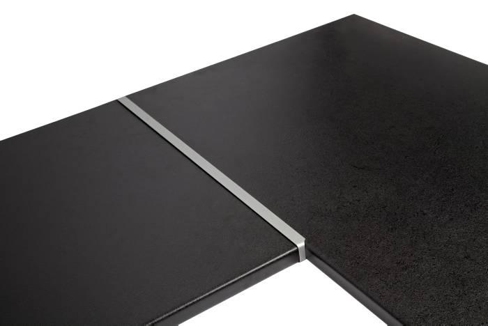Hjørnesamleliste i aluminium