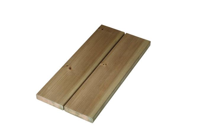 Imp. terrassebrædder 25 mm x 100 mm x 4,0 m