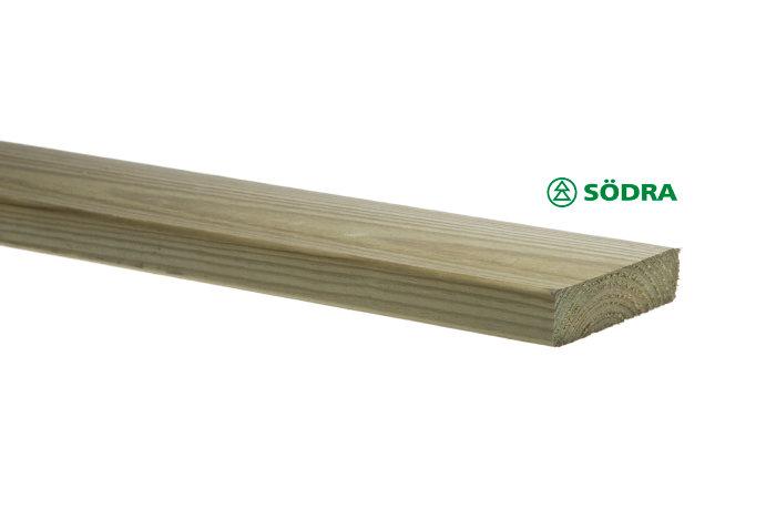 Trallbräda 22 x 95 mm - 5,4 m