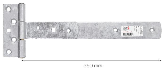 T-hængsel 250 mm galvaniseret