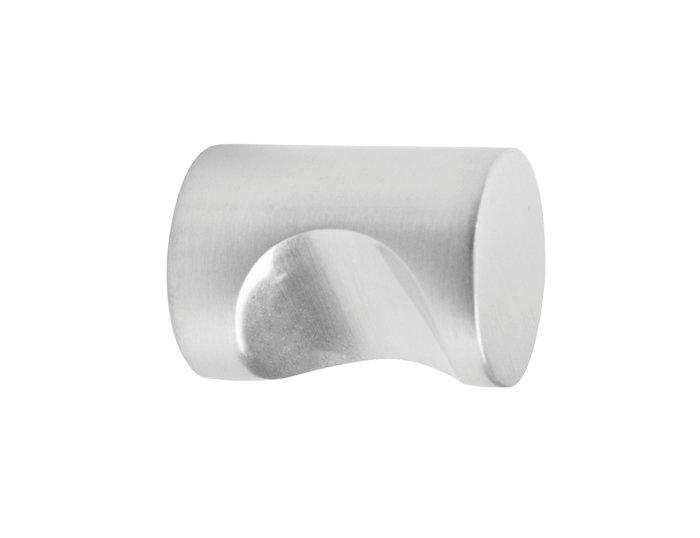 Habo Isac møbelknop børstet krom 19 mm