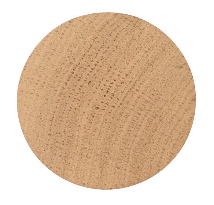 Træknop Ø90 mm egetræ