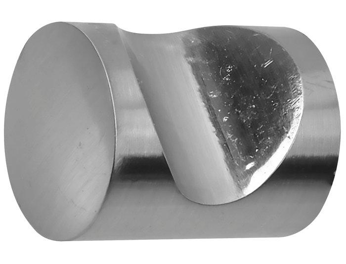 Møbelgreb cylinder 19 mm krom 2 stk.