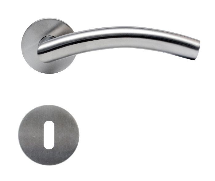 Dørhåndtak B-håndtak Ø19 mm rustfri