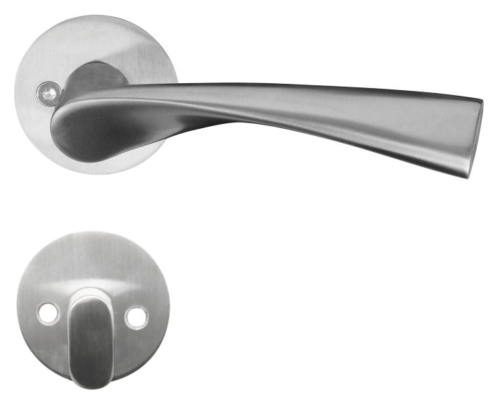 Dørhåndtak - ytterdør rustfri stål