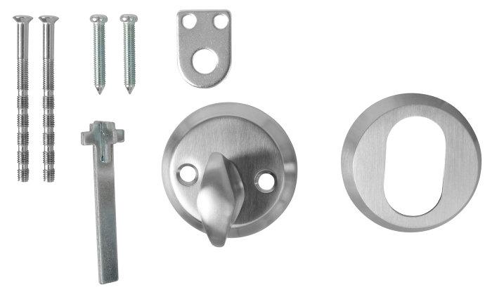 Cylindervridersæt rustfrit stål