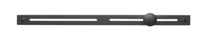 Knagerække sort medium 58,5 cm
