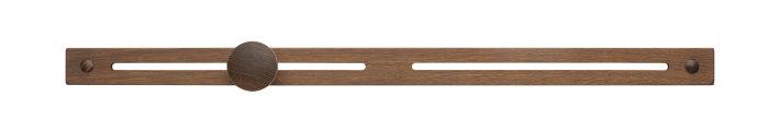 Knagerække røget eg medium 58,5 cm