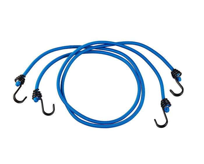 Bagagestrop blå 8 mm x 120 cm 2 stk. - Master Lock