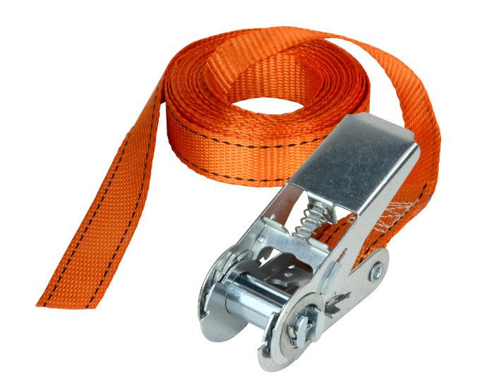 Lastestrop med skralde 25 mm x 5 meter - Master Lock