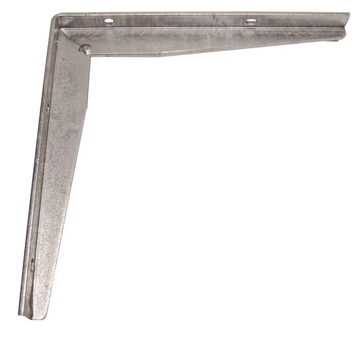 Bordbæring T-profil 300 x 300 mm galv.