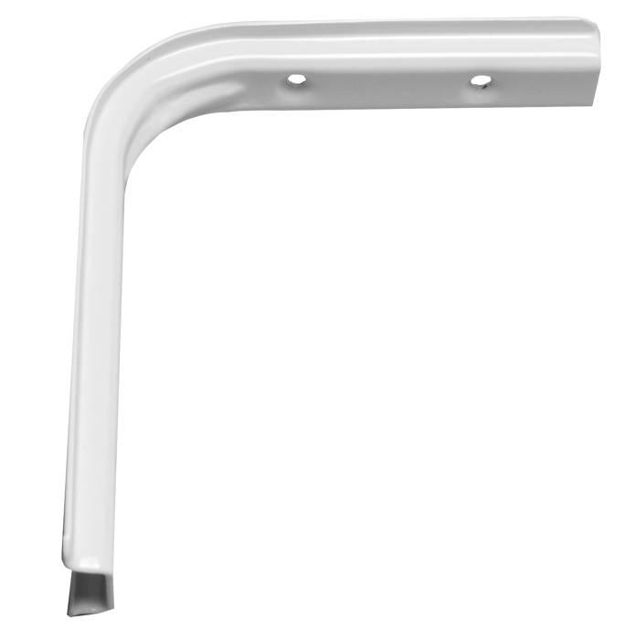 Hyldeknægt U-profil 125 x 150 mm HVID