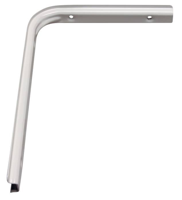 Hyldeknægt U-profil 200 x 250 mm hvid