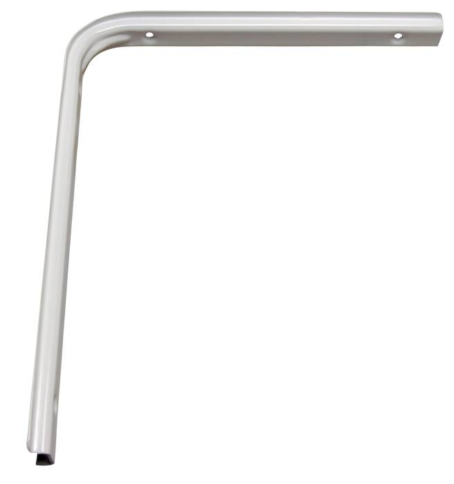 Hyldeknægt u-profil 250 x 300 mm HVID