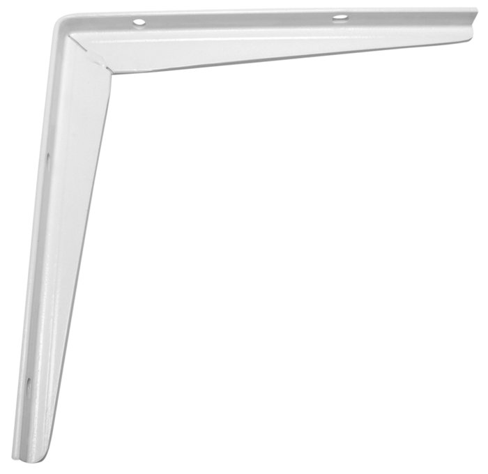 Bordbæring T-profil 300 x 300 mm hvid