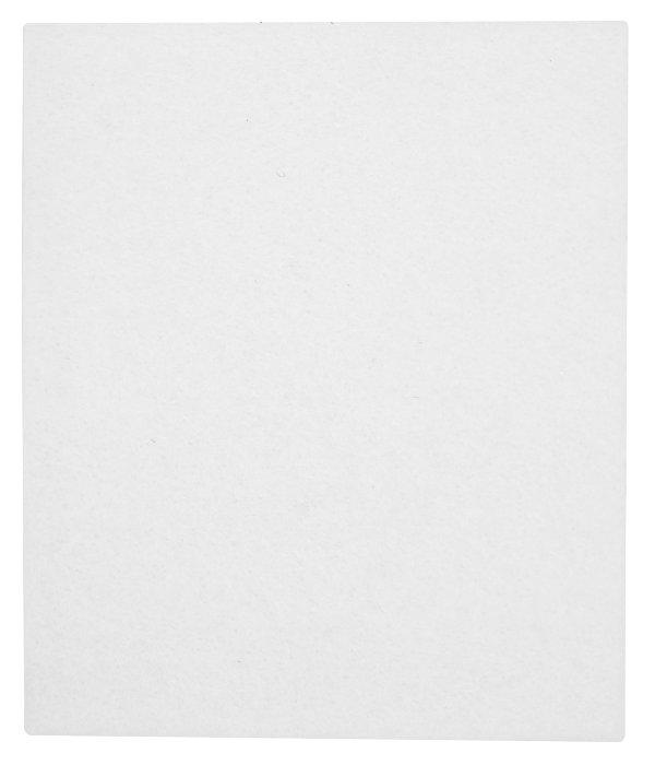 Filtpude firkantet 80 x 90 mm, 1 stk.