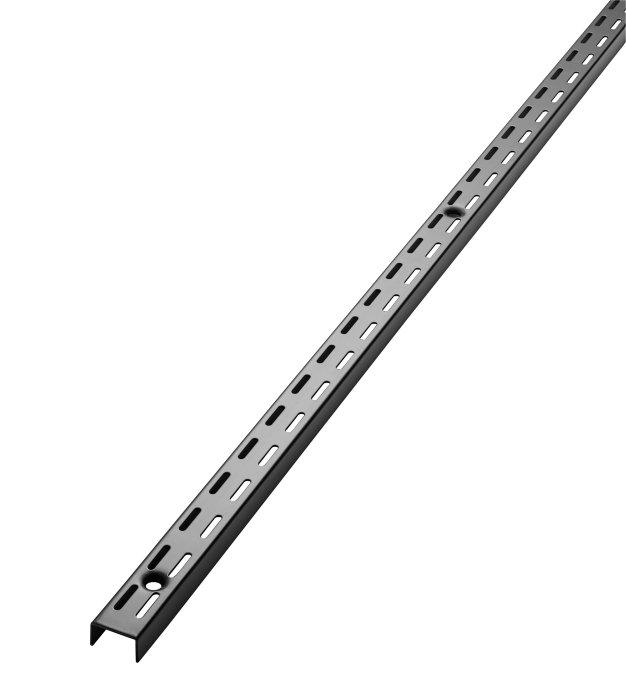 Veggoppheng 198 cm sort