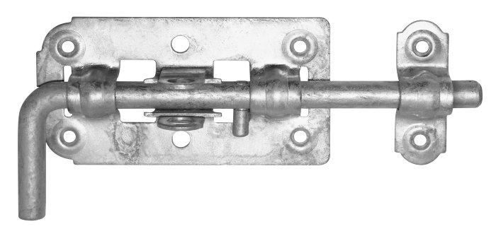 Skudrigle 230 mm galvaniseret