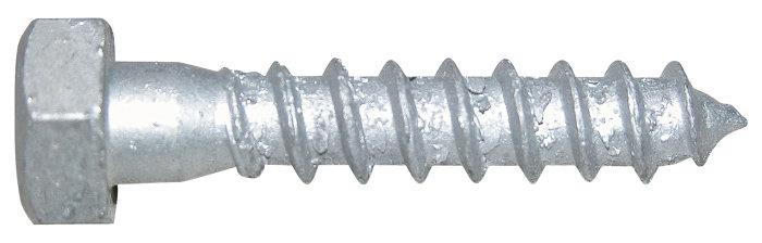 NKT fransk skrue 6 x 60 mm - 6 stk.
