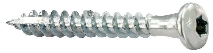 Rustfri CSA beslagskrue. 5,0 x 40 15 stk/pk
