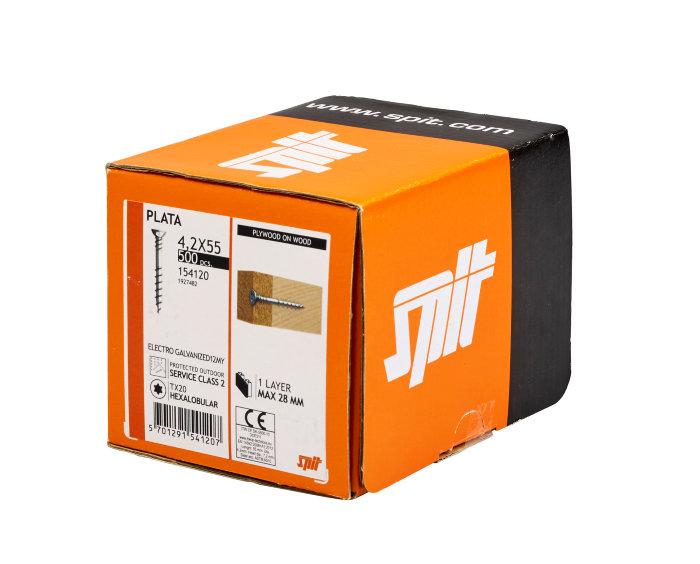 PLATA skrue 4,2 x 55 mm 500 stk - Spit