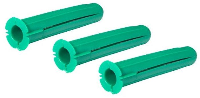Plastplugg Grön 100-pack