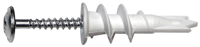 Dybel driva 4,5 x 45 nylon m/skrue 8 stk.