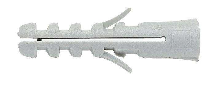 Standard dybel 6 x 30 mm, 100 stk.