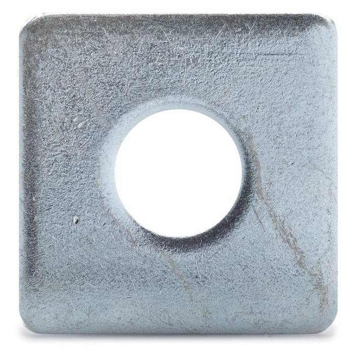 Fyrkantsbricka 7x20x2 mm