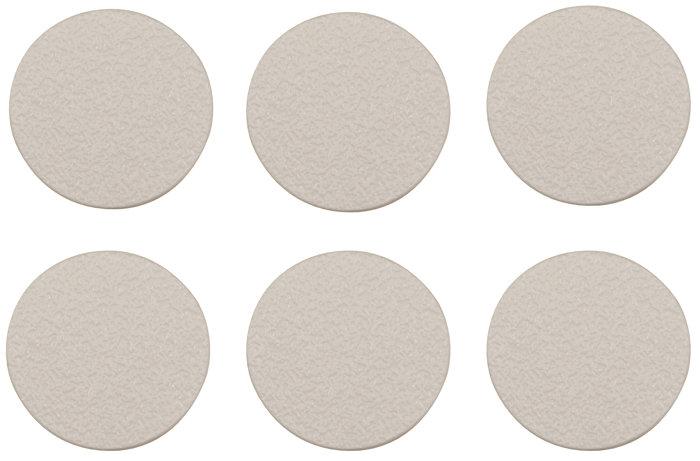 Dækknap hvid 18 mm 36 stk.