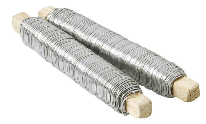 Vindseltråd galvaniseret 0,5 mm x 60 m - 2 stk.