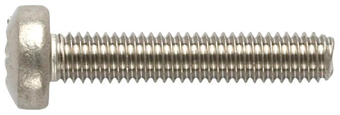 Maskinskrue 5,0 x 30 mm, 4 stk.