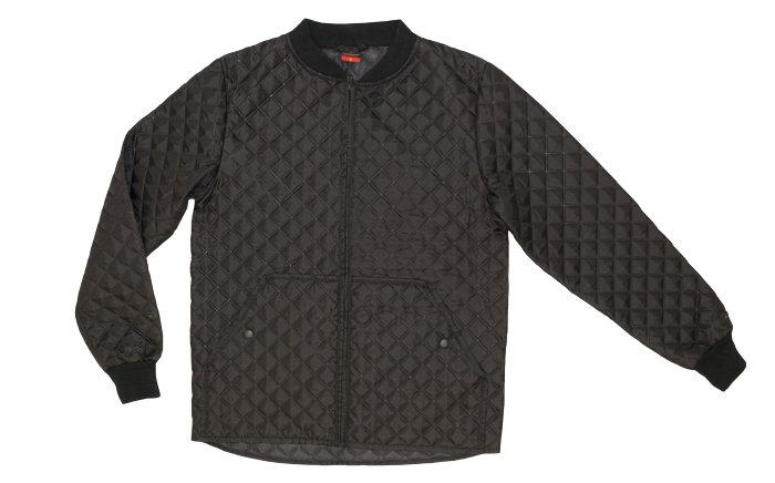 Quiltet jakke str. XXL
