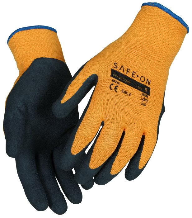 Safe-On OrangeGrip hansker str. 10