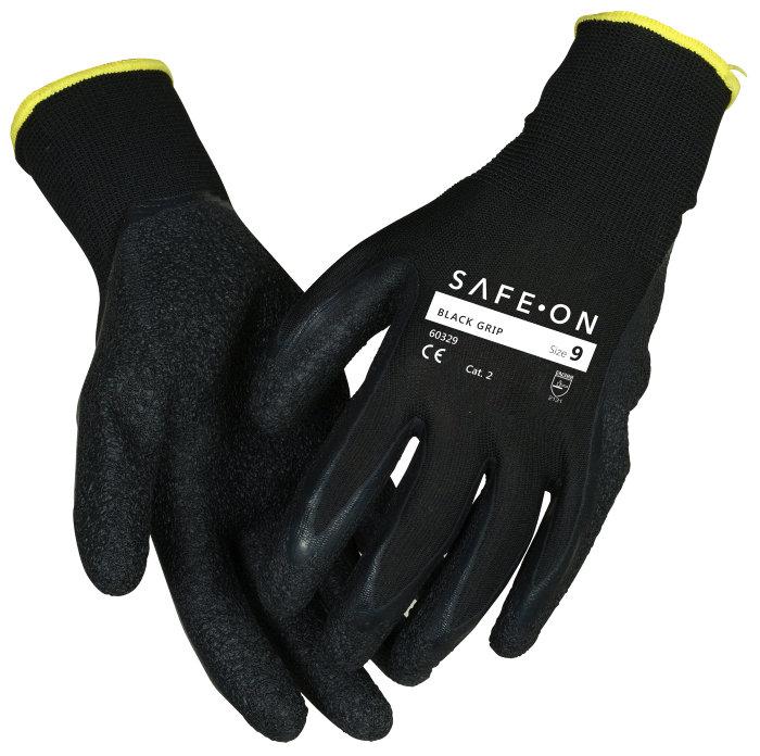 Handske Black Grip 8