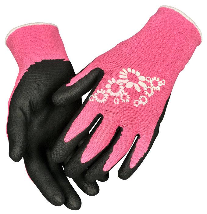 Trädgårdshandske Pink 8