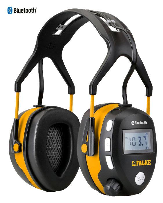 Høreværn med radio og bluetooth - Falke