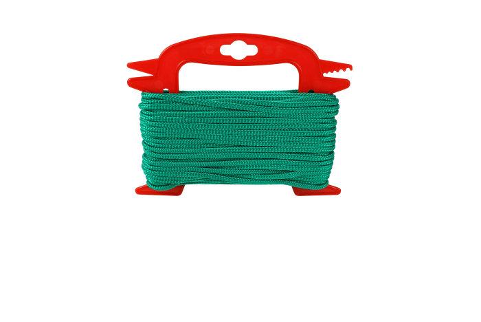 Flisesnor 4 mm 20m grønn