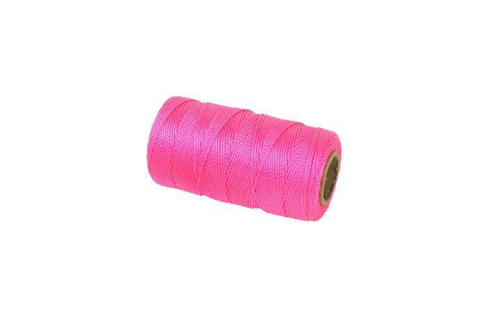 Mursnor rosa Ø1,2 mm 120 meter