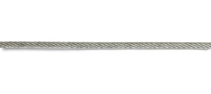 Wire med plastöverdrag 10 m