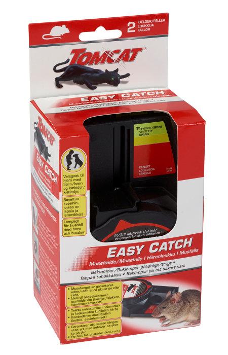 Musefælde Tomcat easy catch 2 stk.