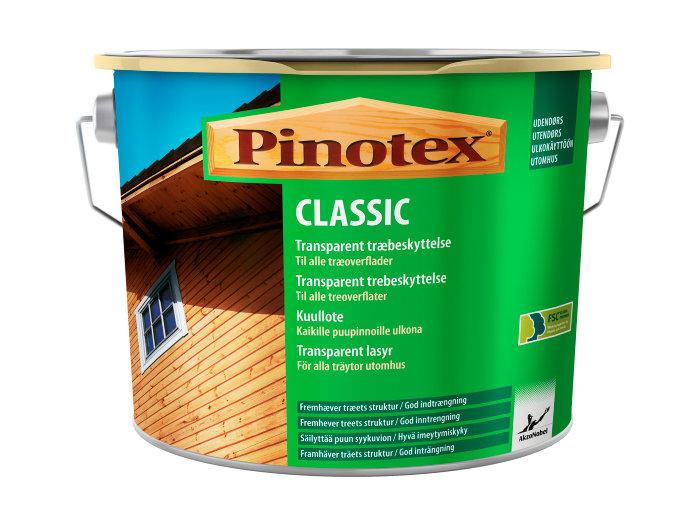 Pinotex Classic Transparent Trebeskyttelse Svart 5 liter