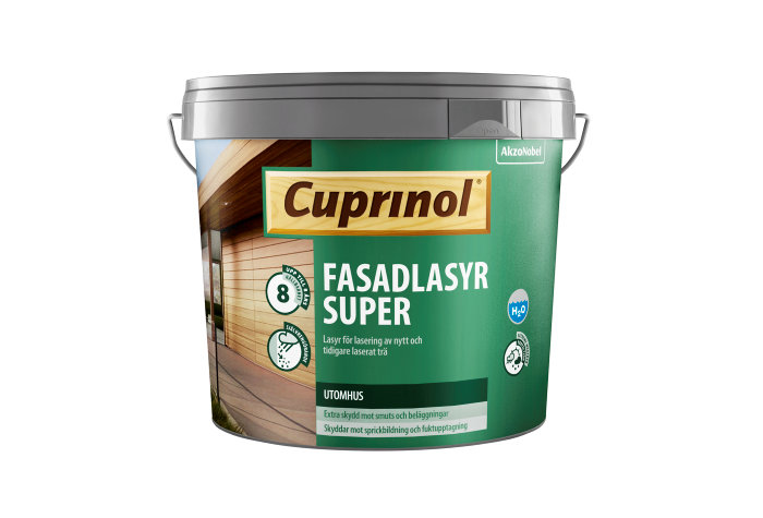 Fasadlasyr Svartbrun 5 L