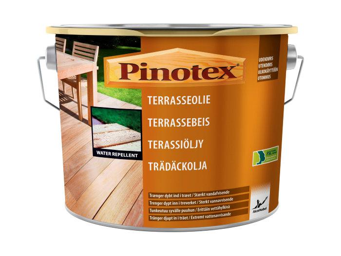 Pinotex Terrasseolie klar 4,65 liter